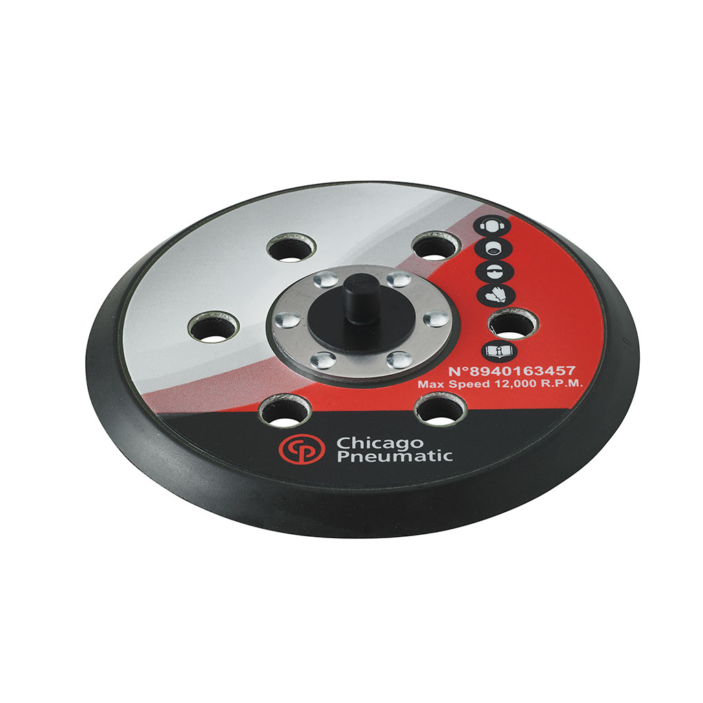 "6"" (150mm) Pad PSA with 7 holes"