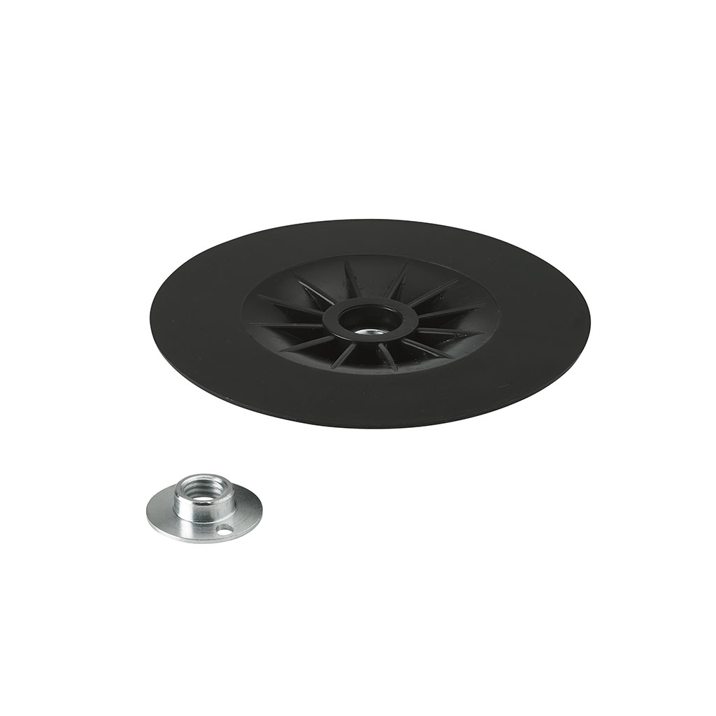 "6.75"" (170mm) Flexible edge pad & nut"
